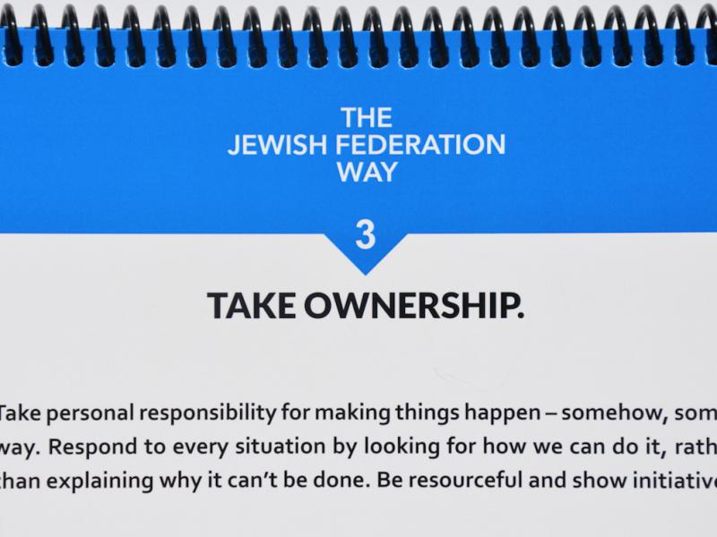 Fundamental #3: Take Ownership   Jewish Cincinnati News