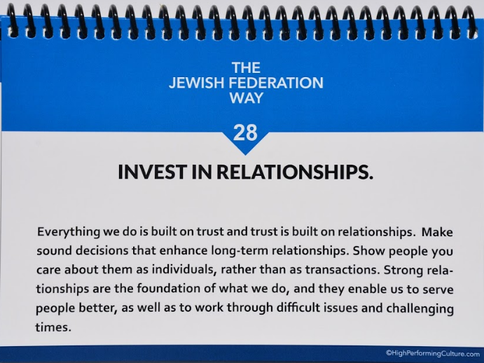Fundamentals #28 — Invest In Relationships and #29 — Always