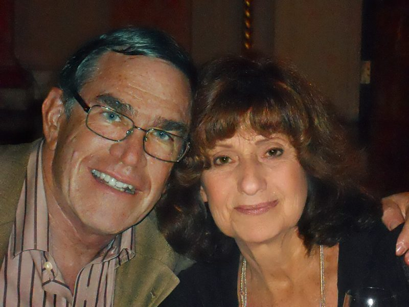 Bob Bass with late wife, Sophie